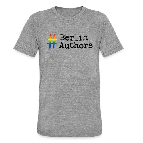 BerlinAuthors Logo Rainbow - Unisex Tri-Blend T-Shirt von Bella + Canvas