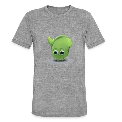 Little green bean - Unisex Tri-Blend T-Shirt von Bella + Canvas