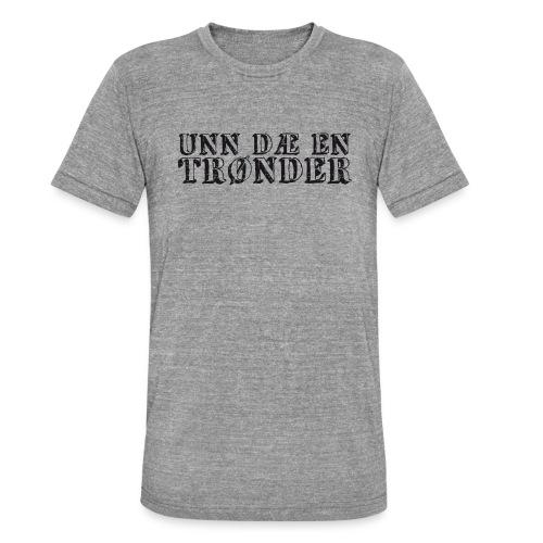 unndae - Unisex tri-blend T-skjorte fra Bella + Canvas