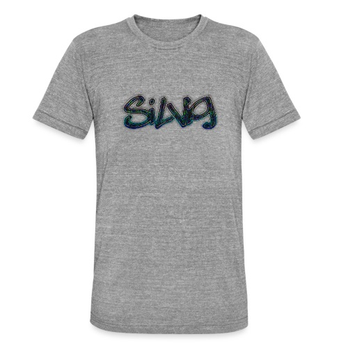 SilViG logo limited - Unisex tri-blend T-shirt fra Bella + Canvas