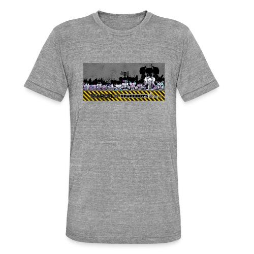 #MarchOfRobots ! LineUp Nr 2 - Unisex tri-blend T-shirt fra Bella + Canvas