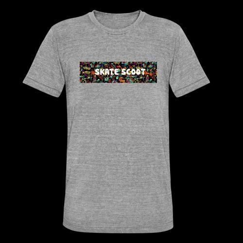 funny logo - Unisex tri-blend T-shirt van Bella + Canvas