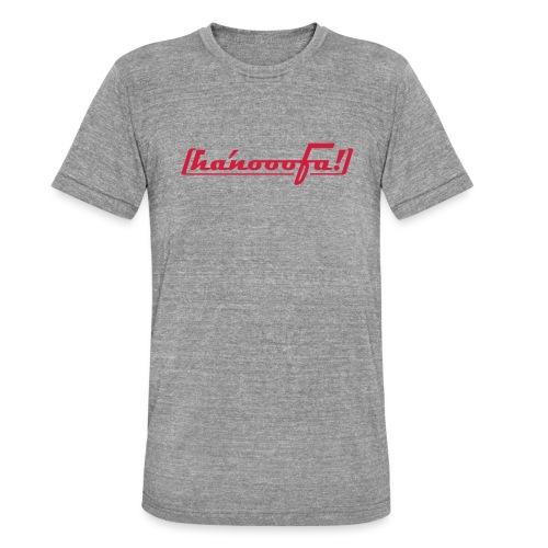hanooofa rz pos33 - Unisex Tri-Blend T-Shirt von Bella + Canvas
