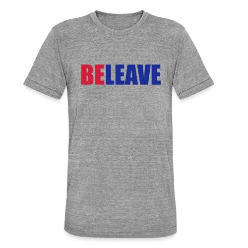 BeLeave - Unisex Tri-Blend T-Shirt by Bella & Canvas