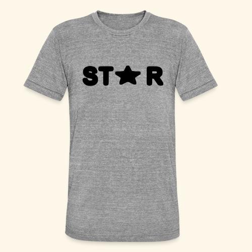 Star of Stars - Unisex Tri-Blend T-Shirt by Bella & Canvas