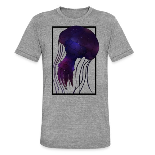 Cosmic Wave - Unisex Tri-Blend T-Shirt von Bella + Canvas