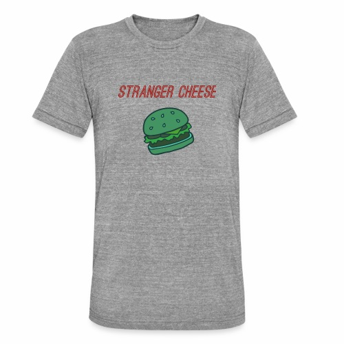 Stranger Cheese - T-shirt chiné Bella + Canvas Unisexe