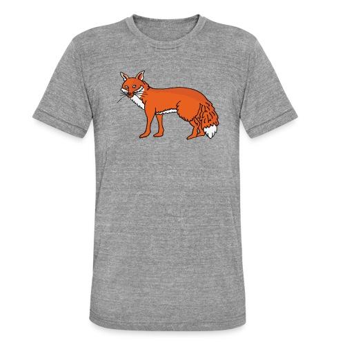 Roxo le renard - T-shirt chiné Bella + Canvas Unisexe