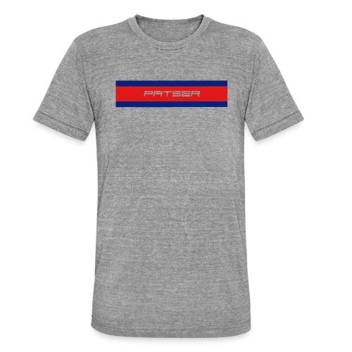 PATSER - Unisex tri-blend T-shirt van Bella + Canvas