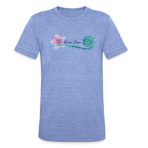 Nähen ist meine Therapie - Unisex Tri-Blend T-Shirt von Bella + Canvas