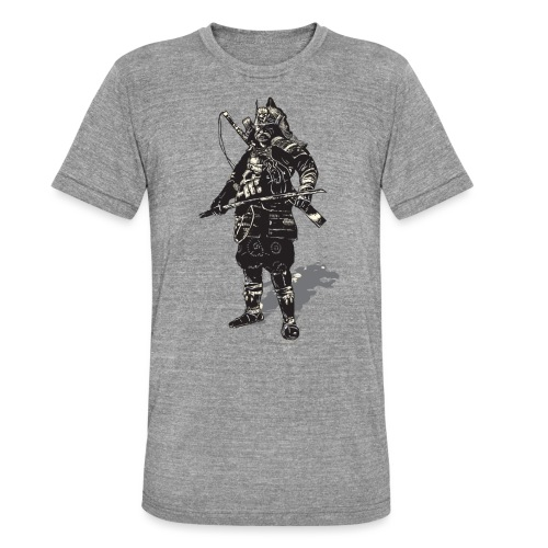 samurai (mushin) - Unisex Tri-Blend T-Shirt by Bella & Canvas
