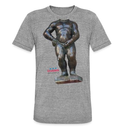 mannekenpis Real Big ♀♂ | 撒尿小童 - T-shirt chiné Bella + Canvas Unisexe