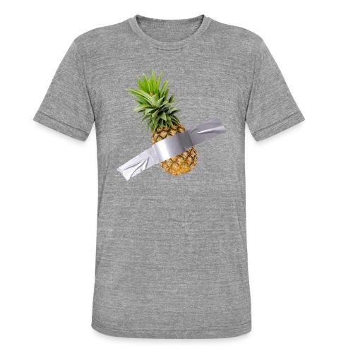 Pineapple Art - Maglietta unisex tri-blend di Bella + Canvas