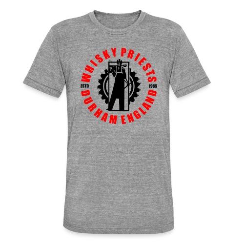 IRON MAN LOGO RED BLACK TRANS - Unisex Tri-Blend T-Shirt by Bella & Canvas