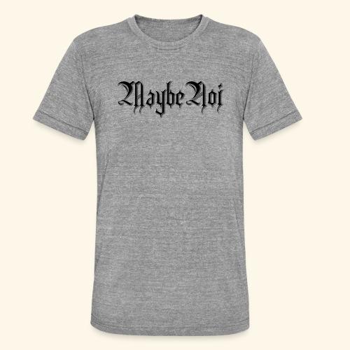 MaybeNoi Design - Unisex Tri-Blend T-Shirt von Bella + Canvas