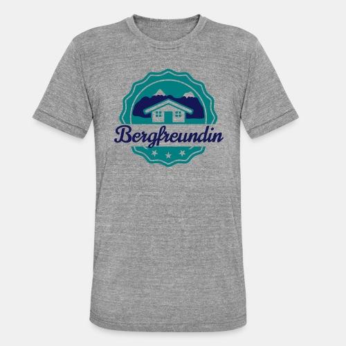 Bergfreundin - Unisex Tri-Blend T-Shirt von Bella + Canvas