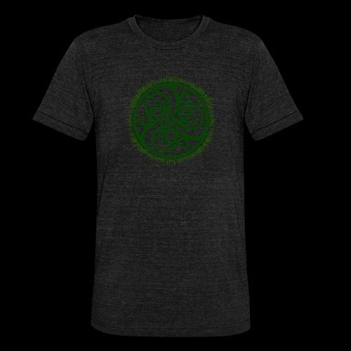 Green Celtic Triknot - Unisex Tri-Blend T-Shirt by Bella & Canvas