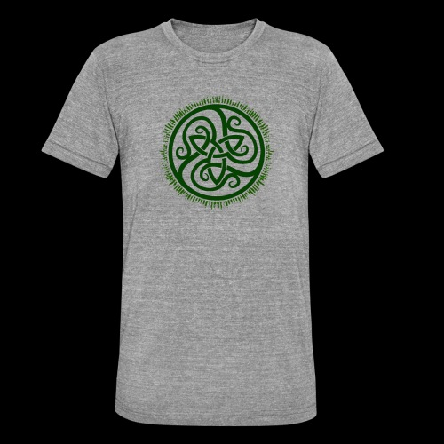 Green Celtic Triknot - Unisex Tri-Blend T-Shirt by Bella & Canvas