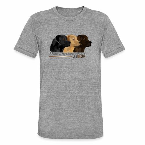 Labrador - T-shirt chiné Bella + Canvas Unisexe
