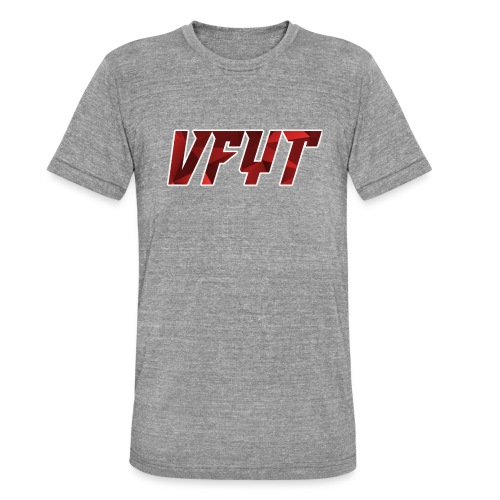 vfyt shirt - Unisex tri-blend T-shirt van Bella + Canvas
