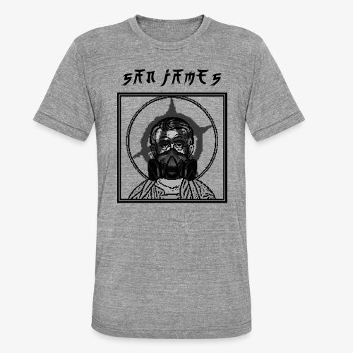 San James Logo+Txt no font - T-shirt chiné Bella + Canvas Unisexe