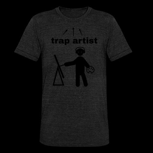 Trap Artist - Camiseta Tri-Blend unisex de Bella + Canvas
