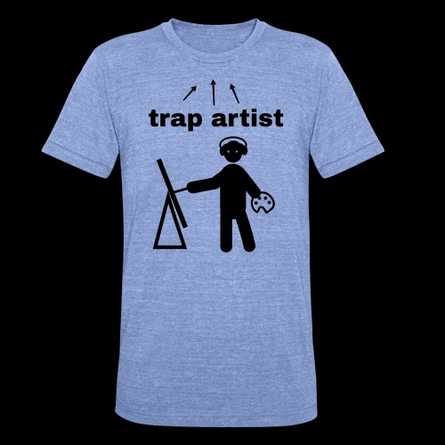 Trap Artist - Camiseta Tri-Blend unisex de Bella + Canvas