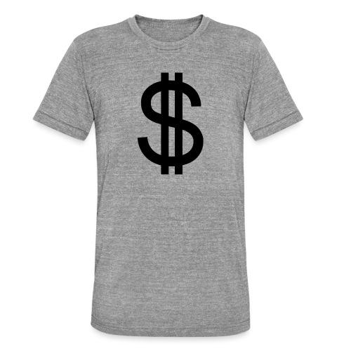 Dollar - Camiseta Tri-Blend unisex de Bella + Canvas