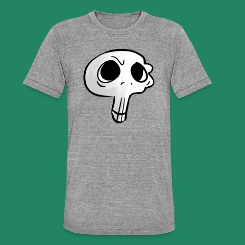 Skull - T-shirt chiné Bella + Canvas Unisexe