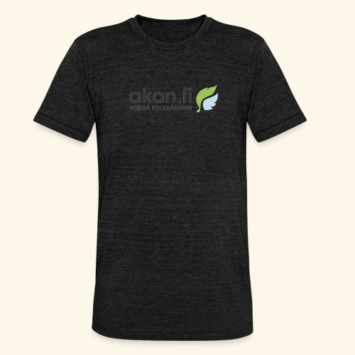 Akan Black - Triblend-T-shirt unisex från Bella + Canvas