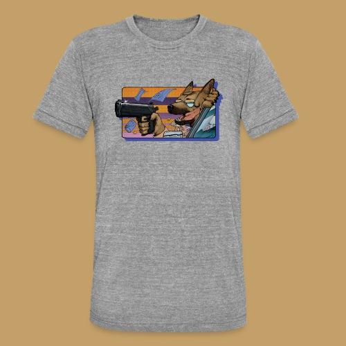 Gun Dog - bez napisu - Koszulka Bella + Canvas triblend – typu unisex