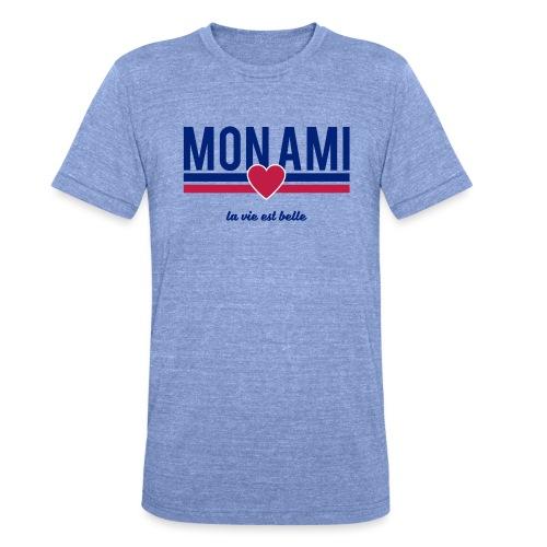 Mon Ami - Unisex Tri-Blend T-Shirt by Bella & Canvas