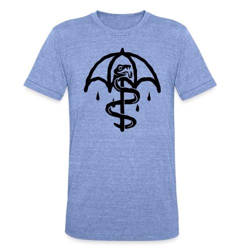 UMBRELLASNAKE - Camiseta Tri-Blend unisex de Bella + Canvas