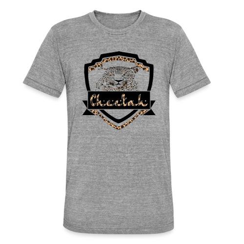 Cheetah Shield - Unisex Tri-Blend T-Shirt by Bella & Canvas