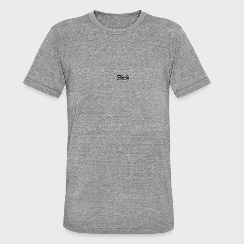 flolo durchgestrichen - Unisex Tri-Blend T-Shirt von Bella + Canvas
