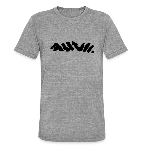 AHVII - Unisex tri-blend T-shirt van Bella + Canvas