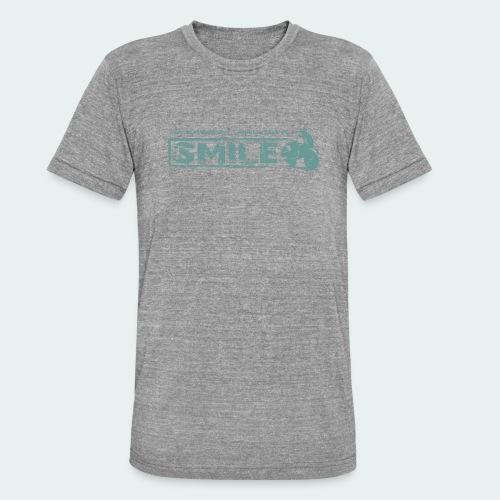 SMILE-Shirt 2018 - Unisex Tri-Blend T-Shirt von Bella + Canvas
