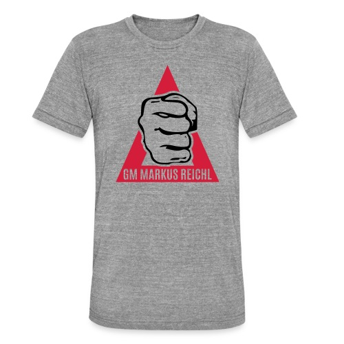 HK-RYU Faust - Unisex Tri-Blend T-Shirt von Bella + Canvas