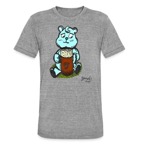 Ours Triste AngelerasCorp - T-shirt chiné Bella + Canvas Unisexe