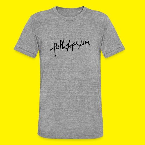 Faith Hope Love - Unisex Tri-Blend T-Shirt by Bella & Canvas