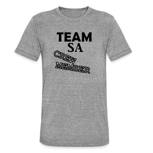 Team SA Crew Member Logo - Triblend-T-shirt unisex från Bella + Canvas