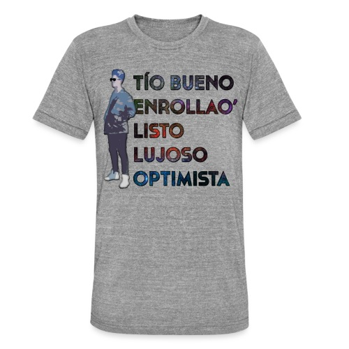 Camiseta Tello Cumple - Camiseta Tri-Blend unisex de Bella + Canvas