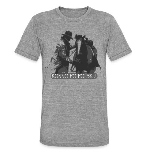 horse2 - Koszulka Bella + Canvas triblend – typu unisex