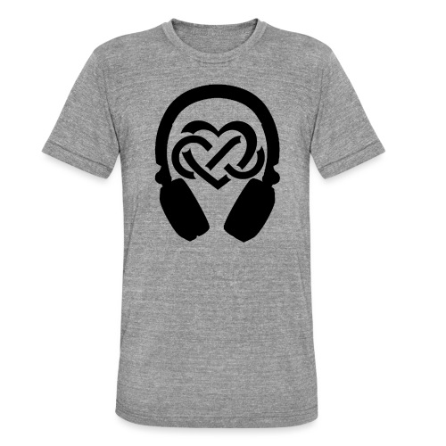 Liefde voor muziek - Unisex tri-blend T-shirt van Bella + Canvas