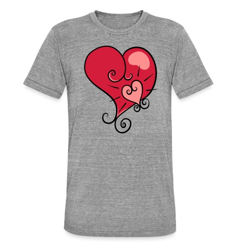 The world's most important. - Unisex Tri-Blend T-Shirt by Bella & Canvas