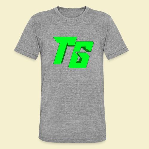 TristanGames logo merchandise [GROOT LOGO] - Unisex tri-blend T-shirt van Bella + Canvas