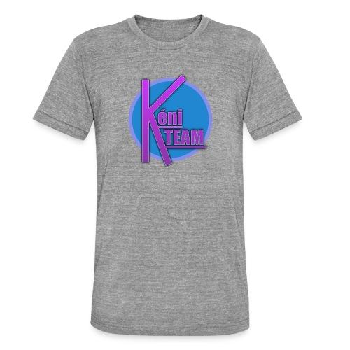 LOGO TEAM - T-shirt chiné Bella + Canvas Unisexe