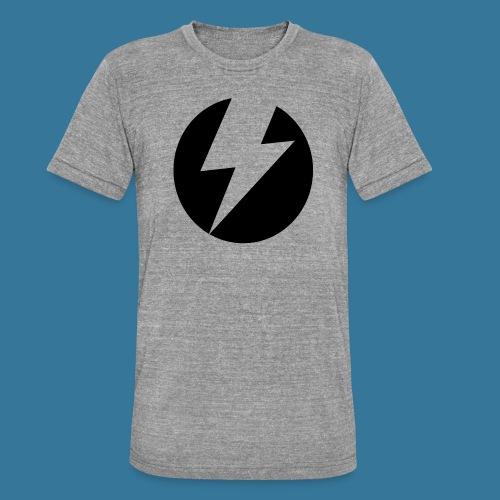 BlueSparks - Inverted - Unisex Tri-Blend T-Shirt by Bella & Canvas