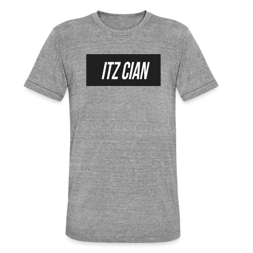 ITZ CIAN RECTANGLE - Unisex Tri-Blend T-Shirt by Bella & Canvas