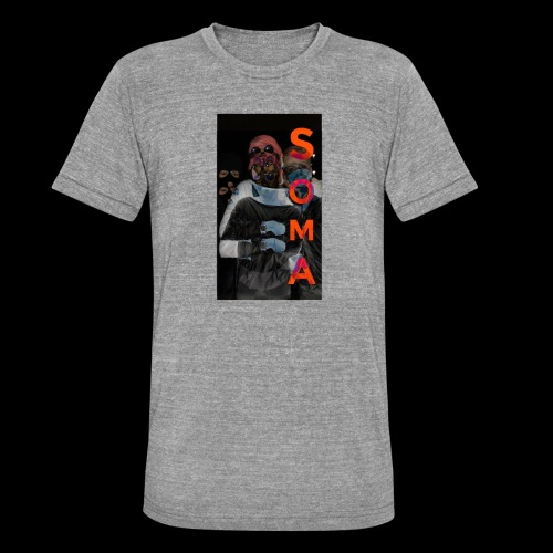 S O M A // Design - Unisex tri-blend T-shirt van Bella + Canvas